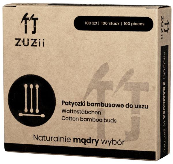 ekologiczne kompostowalne bambusowe patyczki do uszu milvo produkty zero waste