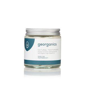 pasta do zębów w słoiczku georganics sklep zero waste produkty ekologiczne milvo ekologiczna pasta do zębów