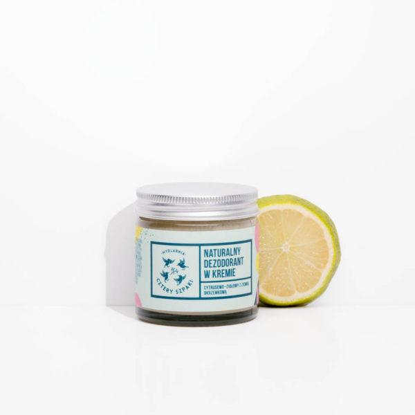 dezodorant bez aluminium naturalny cztery szpaki sklep zero waste