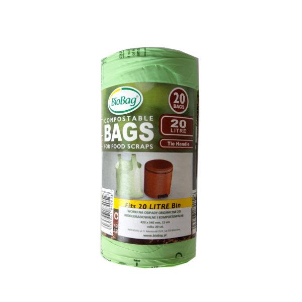 kompostowalne worki na śmieci biobag milvo produkty ekologiczne zero waste