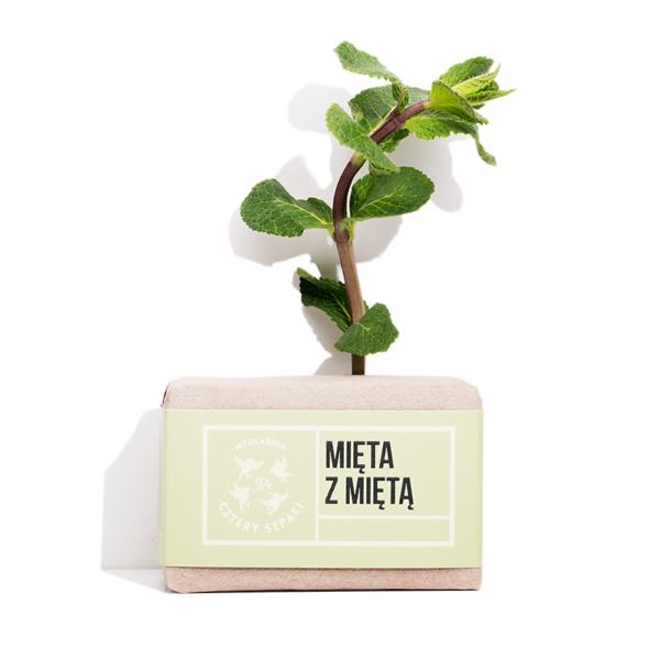 mydło mięta z miętą ekologicze naturalne kosmetyki sklep zero waste