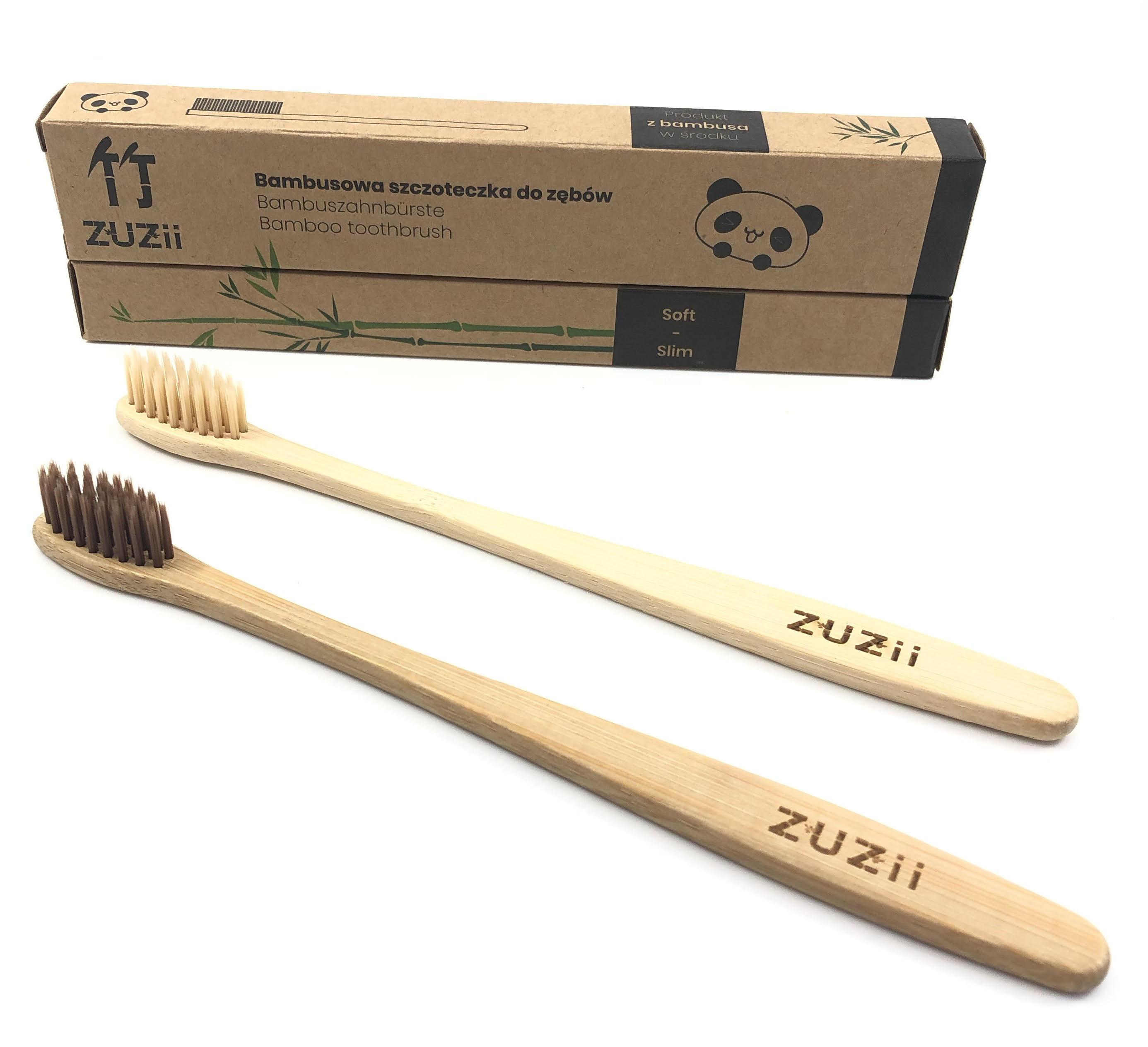 szczoteczka bambusowa ZUZii produkty ekologiczne ekologiczna sklep zero waste milvo