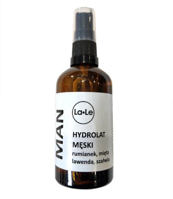 hydrolat man dla mężczyzn la-le la le męski tonik naturalny woda kwiatowa