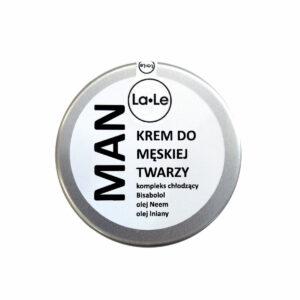 krem MEN la-le dla mężczyzn po goleniu chłodzący łagodzący męski