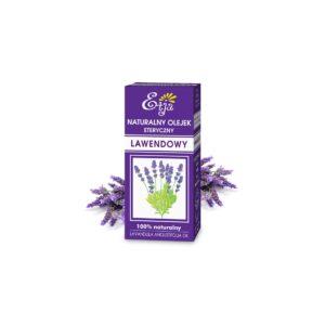 olejek eteryczny lawendowy etja 10 ml bezpieczny do domowych środków czystości kosmetyków