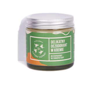 dezodorant bez sody cztery szpaki bezzapachowy naturalny ekologiczny zero waste bez aluminium