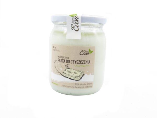 uniwersalna pasta czyszcząca john econ ekologiczna w szkle słoiku