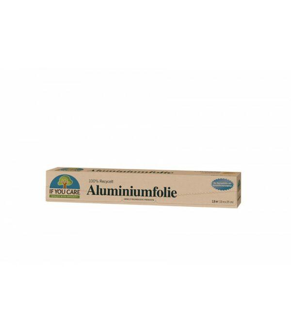 folia aluminiowa z recyklingu if you care