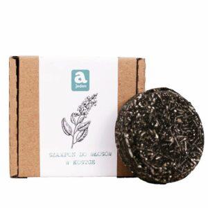 szampon w kostce ajeden szałiwa z węglem drzewnym do włosów przetłuszczających się z łupieżem