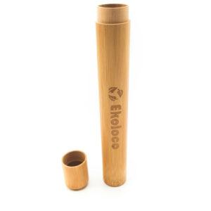 bambusowe pojemnik etui na szczoteczkę do zębów ekoloco