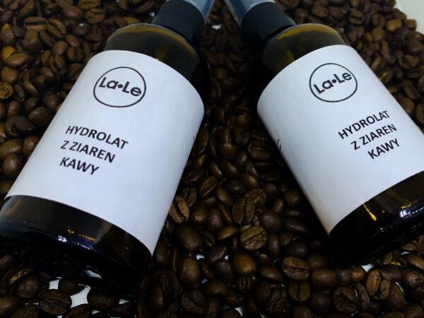 hydrolat z ziaren kawy kawowy la-le