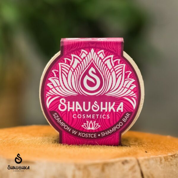szampon w kostce Róża Stulistna Shaushka do włosów przetłuszczających się