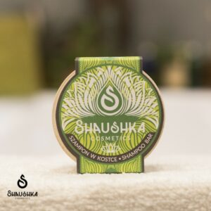 szampon w kostce tulsi shaushka ajuwerdyjsci do włosów średnioporowatych z łuszczycą z łupieżem zniszczonych przesuszonych