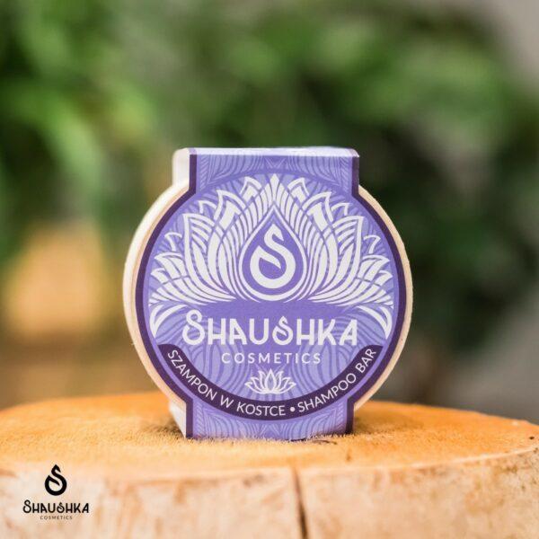 szampon w kostce yoga shaushka rozjaśniający włosy do włosów jasnych farbowanych przetłuszczających się