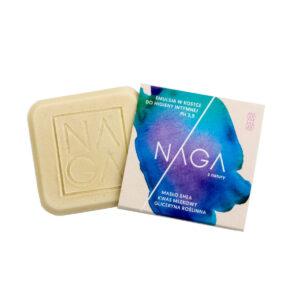 kostka myjąca do higieny intymnej naga emulsja w kostce z kwasem mlekowym zero waste