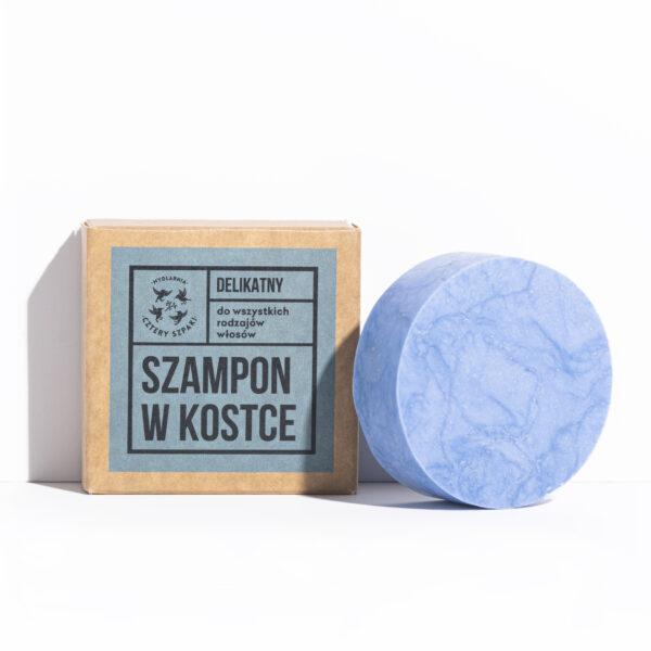 szampon w kostce delikatny cztery szpaki dla skóry wrażliwej łagodny