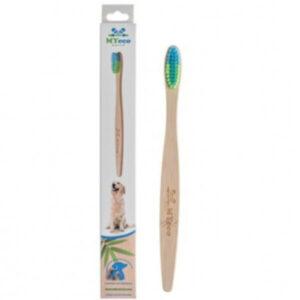 Bambusowa szczoteczka dla dużego psa